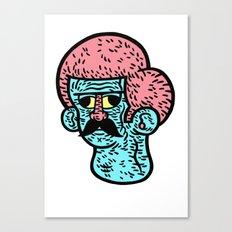 Moustache Canvas Print
