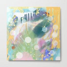 Abstract 3 Metal Print