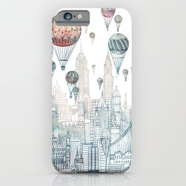 Voyages Over New York ~Refresh iPhone Case