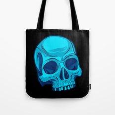 Skull - Cyan Tote Bag