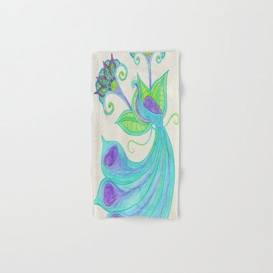 Peacocks & Paisley (2) Hand & Bath Towel