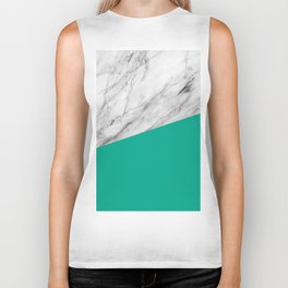 Marble with Arcadia Color Biker Tank