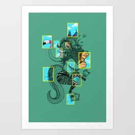 National Animalgraphics Art Print