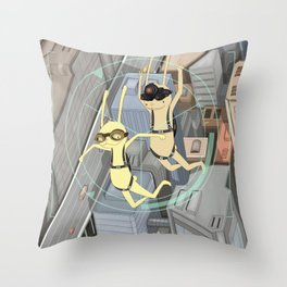 TRIZ Extended [collap w Sweet Aleksandra] Throw Pillow