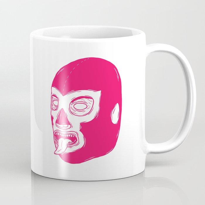 Pink Luchador Coffee Mug