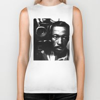 parks Biker Tanks featuring GORDON PARKS: Legend by Tia Hank