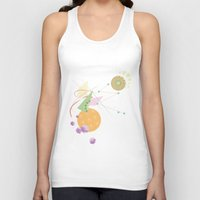 kandinsky Tank Tops featuring Abstract Fruits by Mabel S