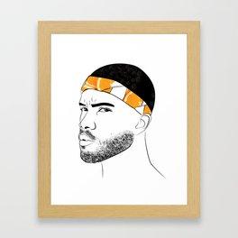 Frank (Channel) O(range)cean Framed Art Print