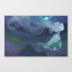 Mist on the Moors Canvas Print