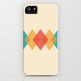 Rhombus iPhone Case