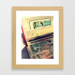 Sendak Pages Framed Art Print