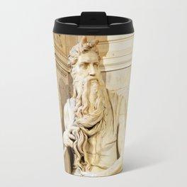 Michelangelo's Moses Travel Mug
