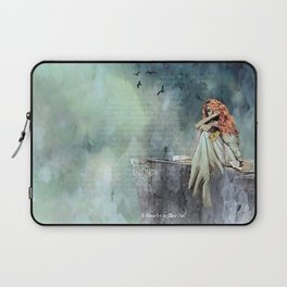 Cliffs of Dover Laptop Sleeve