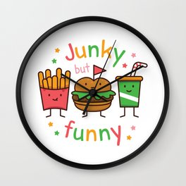 Junky but Funny Wall Clock