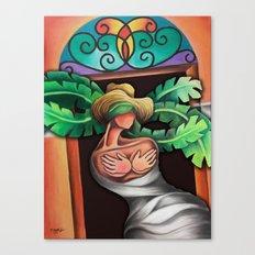 Miguez Art Cuban Mix 2 Canvas Print