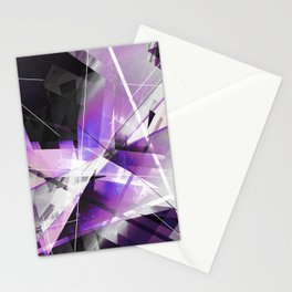 Breakwave - Geometric Abstract Art Stationery Cards