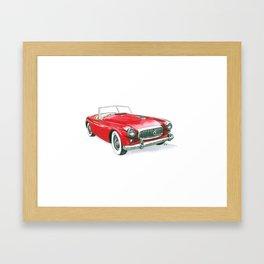 50 Nash Healey Framed Art Print