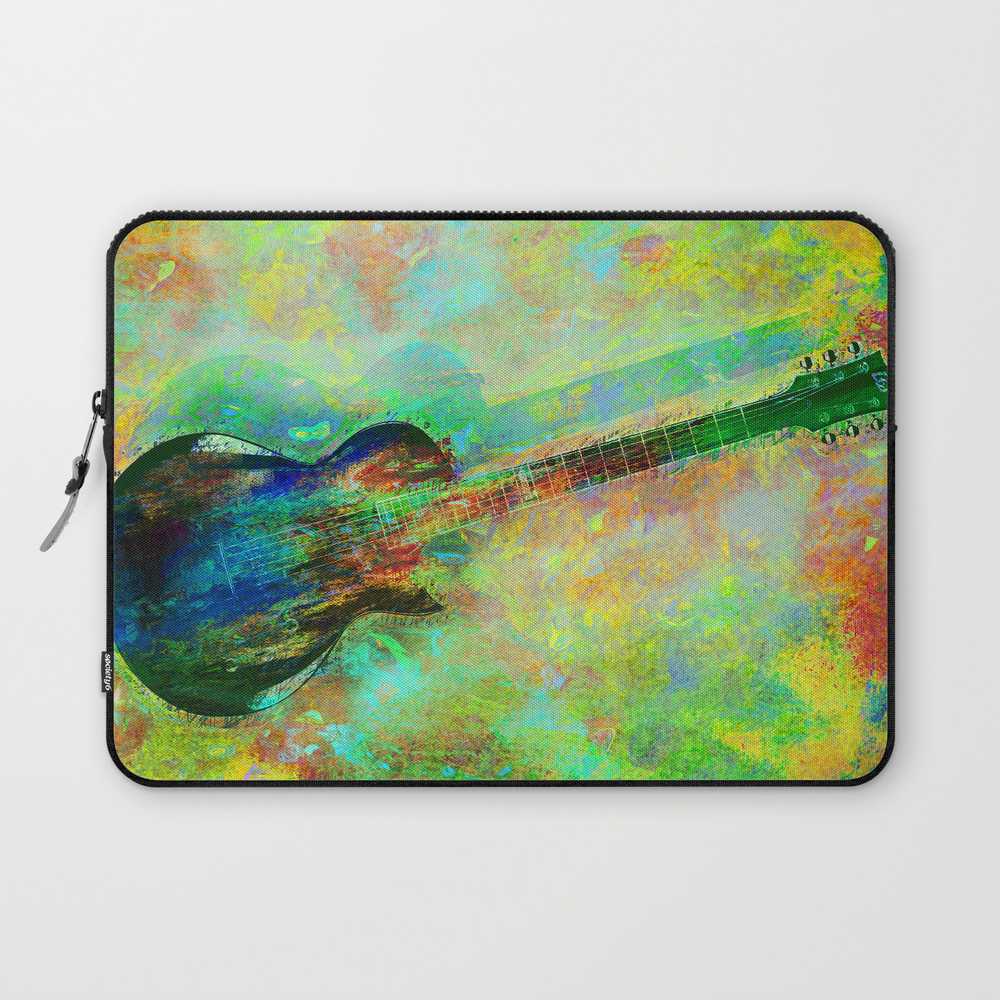 Sounds Of Music. Guitar. Laptop Sleeve LSV8621385