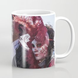 Couple of carnival masks in Venice Coffee Mug
