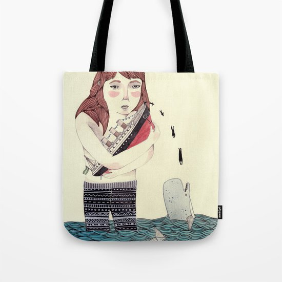 Overboard Tote Bag