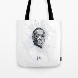 House of Cards - Frank Underwood Tote Bag
