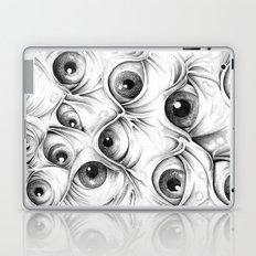 Trippy Abstract Eyeball Drawing Laptop & iPad Skin