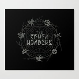The Seven Wonders Canvas Print