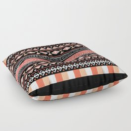Mojave Black Floor Pillow