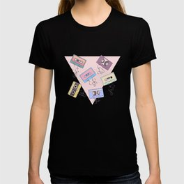 Cassette Pattern T-shirt