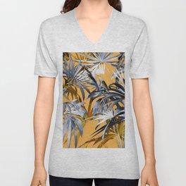 Tropical Foliage Unisex V-Neck