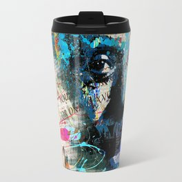 Artistic OI  - Albert Einstein II Travel Mug