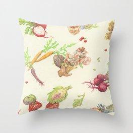 Fall Food Throw Pillow