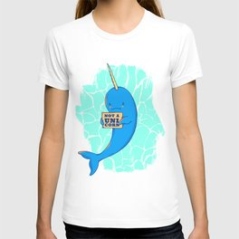 Narwhal not a unicorn T-shirt