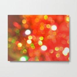 Bright lights. Metal Print