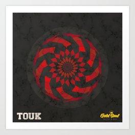 TAKEOVER x Gold Soul Mandala Art Print