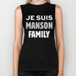 Je Suis - Manson Family Biker Tank