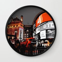 London - Piccadilly Circus Wall Clock