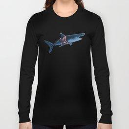 Shark in a Shirt Long Sleeve T-shirt