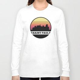 Saint Paul Skyline Long Sleeve T-shirt
