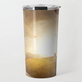 Book Landscape Travel Mug