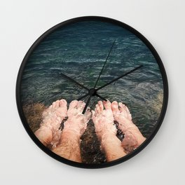 resting together Wall Clock