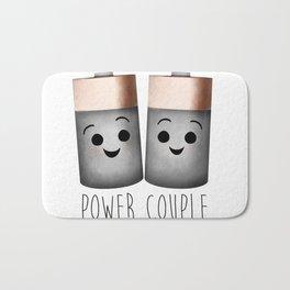 Power Couple | Batteries Bath Mat