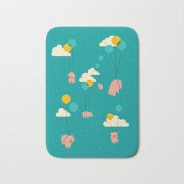 Pigs Fly Bath Mat