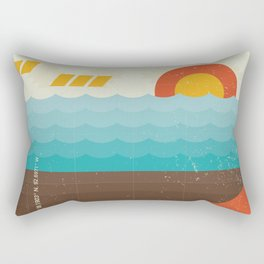 Lake of the Ozarks Rectangular Pillow