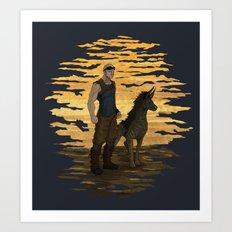 Riddick and Escape Artist Art Print