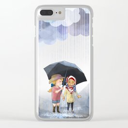 Love Trumps Hate #2 Clear iPhone Case