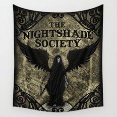 The Nightshade Society Wall Tapestry