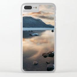 Winter Landscape Clear iPhone Case