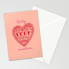 Valentine hearts 4 Stationery Cards
