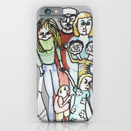 Weird Family iPhone Case
